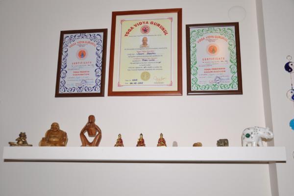 Yogakam studyosundan görüntüler